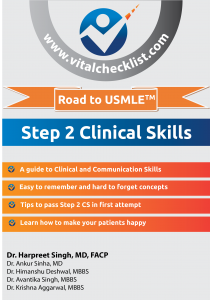 Cover-Road to USMLE Step 2 Clinical Skills